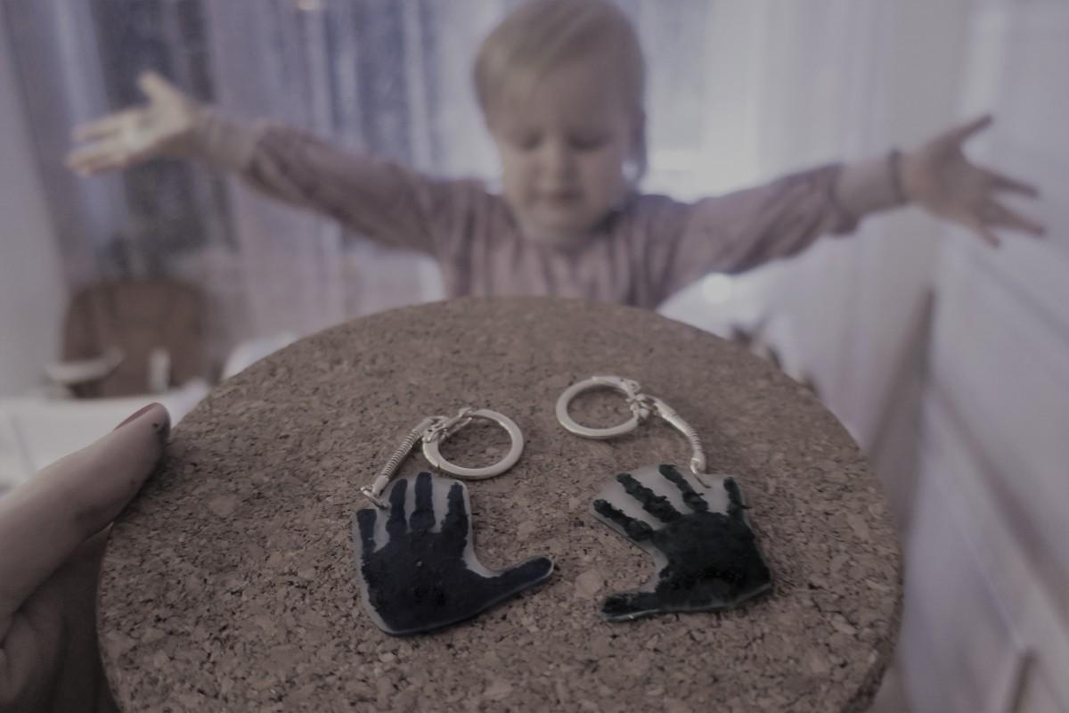 Koos lastega: Käejäljest võtmehoidjameisterdamine